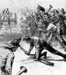 The Tournament at Jamaica 1885